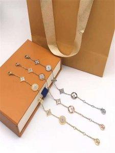 New classic five-flower shell fashion designer bracelet designer jewelry women bracelet