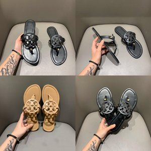 Square Toe Chunky Slippers High Heels Leather Sandals Mujer Grandmother Mules Closed Toe Women Shoes Slides#133