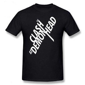 Midnite Estrella El choque camiseta En Demonhead blanca básica de la camiseta de los hombres de la camisa 5XL Moda divertido verano manga corta para hombre Camiseta
