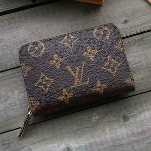 Marque de luxe de portefeuille Hommes FemmesLVportefeuille de carte de crédit Porte-Sac à main en cuir Portefeuilles Sacs à main Sacs à main