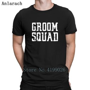 Groom Squad Bridal Party Groomsmen Squad T-Shirt Hiphop Tops Create Slim T Shirt For Men Humorous Plus Size 3xl Spring Newest
