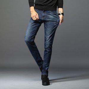 i jeans degli uomini casuali 9 punti 9-fen ku 9 fen ku-stile coreano 9 punti pantaloni studenti giovani alla moda di stirata sottili pantaloni alla caviglia