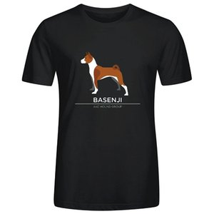 Basenji L40 T-shirts Menstshirt Marque Casual Male Fashion manches courtes manches T-shirt Cool New Arrivée Homme T-shirts