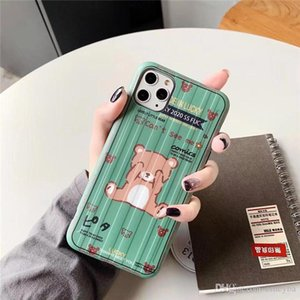 Hot Luxury 3D Carton animal TPU Silicone Phone Case Cover for Apple iPhone 8 7 6 6S Plus X XS MAX XR 11 11pro max Cover