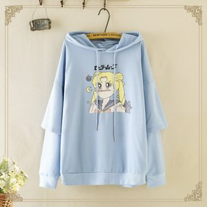 Autumn New Cartoon hooded Coat sweater long-sleeved sweater female and girls' autumn coat g4123