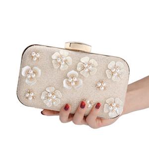 Ladies new pearl evening bag handmade beaded bag fashion banquet bag ladies handbag