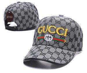 Top-Marke Adult Adjustable Unisex Designer Hutkappen Männer Stickerei Hochtemperaturdruck Frauen Baseballmütze wilde Mode casquette