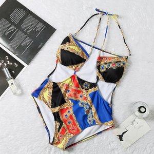 Maillot une pièce 2020 Maillot de bain pour les femmes Plage Natation SWIBLS Vintage baigneuse Maillots de bain.
