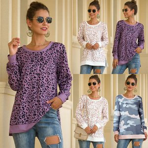Leopard print women t shirt 2020 Summer spring o-neck women tops casual long sleeve ladies tees tops female clothes t-shirt