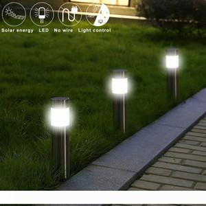 2W LED Solar Garden Lighting Stainless Steel Stud Lawn Lamp IP65 Waterproof Solar Garden Lights LED Outdoor Lamp