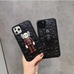 Phone case For iPhone 11 Por Max Xs Max Xr X 6 6S 7 8 Plus Case Cover Kaws 3D Toy Cartoon Soft Silicone Rubber Cute High quality