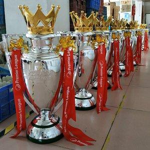 Trofeo de Fútbol Inglés Resina trofeo de fútbol ventiladores Champions Trophy recuerdos y regalos taza decoraciones caseras