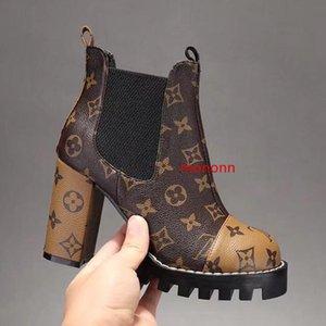 Newst NEW Высокие каблуки вяжут носки ботинок конструктора тавра Женщины с вечера партии загрузки с оригинала