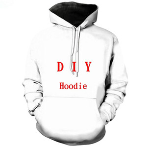 ClOOCl DIY Personnaliser la personnalité de conception 3D Hoodies Imprimer propre image Photo Star Anime Streetwear Sweat Hoodies