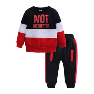 Boys Clothing Set Spring autumn New Fahion tracksuit 0-2Years Cotton O-Neck Full Sleeve Children Sets Baby Boys Clothes JY-394