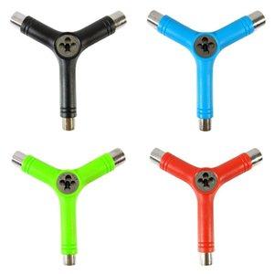 Новый Y Тип Многофункциональный скейтборд Repair Tool Портативный Многофункциональный скейтборд Набор аксессуаров Тарелка Универсальный ключ