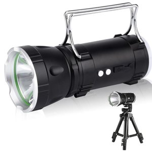 LED Portable Searchlight XPG Handheld Lighting Hunting Camping Light Lamp USB Rechargeable Super Bright Power Bank