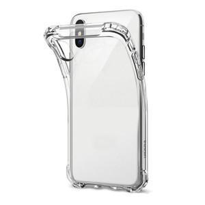 Caso TPU Funda de TPU suave ultrafina a prueba de choque para iPhone 12 PRO 11 MAX X 8 PLUS 7 para iPhone XS XR XS Max Funda