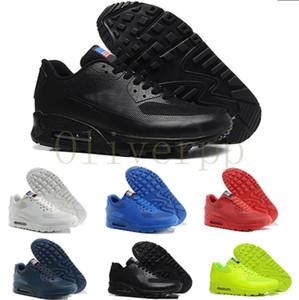 Nike air max airmax 90 HYP PRM QS 2020 vente chaude 90 HYP QS USA flag Sneaker pour hommes femmes amant designer entraîneur Chaussures de course Sport