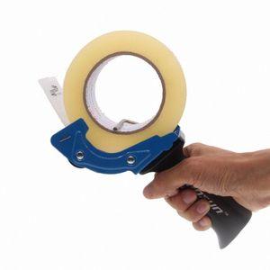 60 millimetri Heavy Duty Tape Cutter Tape Gun Dispenser leggero portatile per cartone, imballaggi e Box di tenuta; Colore casuale hfOr #