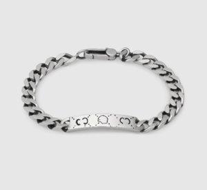 Alta calidad plateada plata cráneo pulsera unisex regalo Hip Hop joyería pulsera de la moda de Nueva pulsera de moda Producto Suministro