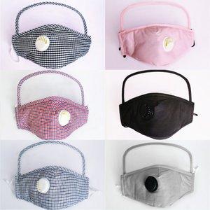 1 Yüz Maske DHL Kargo 2 PM2.5 Filtre Pad Koruyucu Göz Yüz Kalkanı Kapak Yeniden Yıkanabilir Nefes Maskesi AHB459 ekle Can
