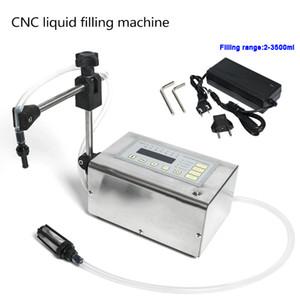 DHL gratuit! GFK-180 Machine de remplissage liquide électrique Mini petite bouteille d'eau de remplissage numérique de remplissage Gamme 2-3500ml