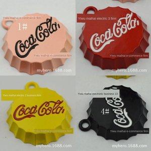 uUEZz 8310-25mm cap diy handmade jewelry accessories painting pendant mobile Pendant cola bottle Diy cola bottle phone jewelry bag hanging c