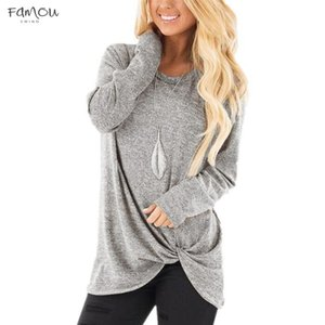 Autumn T Shirt Women Solid Tops Tee Fashion Long Sleeve Top Lady Loose Tee Shirts Women Clothes Plus Size Women Top Solid
