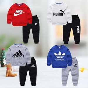 2020 brand Boys 2-13years Girls Suit Tracksuits sweater Clothing Set Hot Spring Autumn Children Dresses shirts hoodid Sleeve Sweater nbj84se