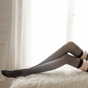 novas mulheres high-end de seda de suspensão meias meias meias sem margens ligas dos homens meias equipamento sexy extrema tentação