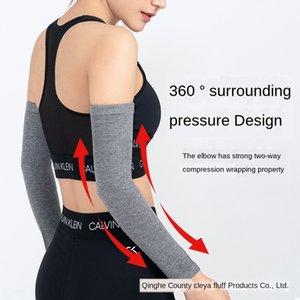 erkek ve kadınlar için spor ince klimalı oda sıcak bilek kayışı Klima bilek askısı w tDdIW Pamuk dirsek eklem kapağı bacak le kol