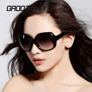 GAOOZE Oval Óculos de Mulheres Reading Glasses Red Sunglass Retro Óculos Mulheres Oval marca óculos de sol Mulheres Projeto LXD425