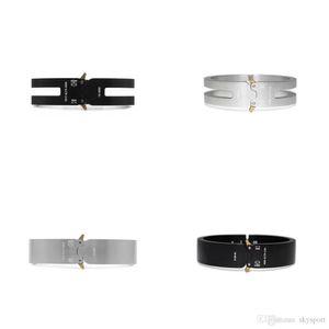 2018 ALYX STUDIO LOGO Metal Chain DSM necklace Bracelet Men Women Hip Hop Outdoor Street Accessories Festival Gift free ship 927