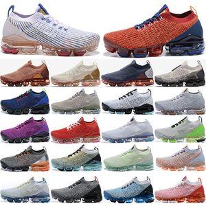 New qualidade superior chegada Fly 2.0 3.0 Sneakers Knit 2.0 3.0 Homens Mulheres sapata sapatas Triplo Preto Branco CNY Tigre do arco-íris Sports