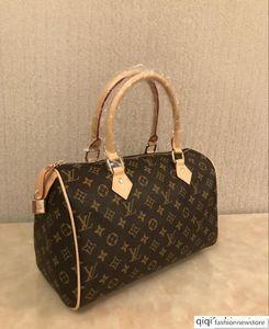High quality oxidize cowhide speedy 30cm Hot Sell Fashion bag women bag Shoulder Bags Lady Totes handbags bags AZ126