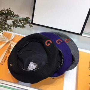 Fashion-2020 Haute Couture newsboy Hüte Qualitätsfrühling Barette Winter Herbst klassischen Hut Alphabet Malers für Männer und Frauen
