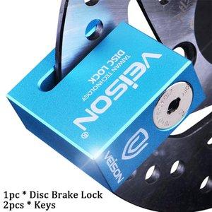 Schutz Alloy Motobike Zubehör Mit Tasten Sicherheit Anti-Diebstahl-Disc Brake Lock-Universal-Mountainbike-Scooter im Freien