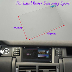 Internal Accessories 8'' GPS Navigation Screen Glass Protective Film For Land Rover Discovery Sport