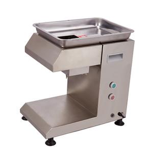 Desktop Meat Slicer kommerzielle automatische Chiken oder Rindfleisch Schneidemaschine für Hotel oder Restaurant Küche Schnellen Prozessmaterial Scheibe Shred
