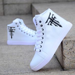 2020 nueva primavera de los hombres la moda casuales zapatos de Corea zapatos de blanco los Deportivos HOMBRES