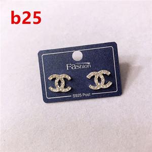 Boucles d'oreilles de créateurs de bijoux de mode de luxe 089Women boîte originale pour Pandora 925