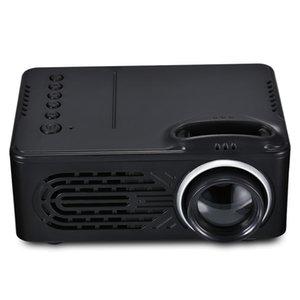 Rd - 814 Портативный светодиодный мини-проектор мультимедиа для фото Музыка Кино Текст Домашний кинотеатр Проекторы Бимер Projecteur T190620