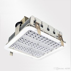Explosion proof canopy lights finned radiator 100W 150W 180W LED high bay light for GAS Station lights warehouse lamp 5 years warranty