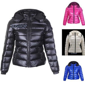 Donne Inverno casuale Piumino Piumini Donna all'aperto caldo Feather vestito cappotto di inverno outwear giacche