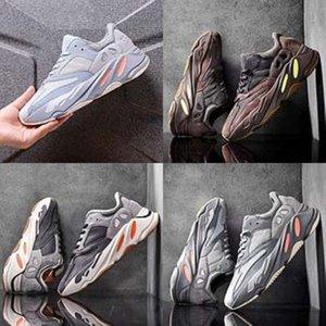 Cojines cordones Slip-On niños Kanye West Kanye West 700 700 Zapatos para niños Niños Niñas Entrenadores zapatillas Negro Blanco Rosa Azul voltios Kid Chi # 837