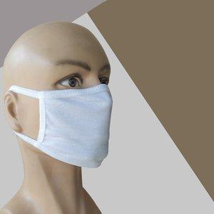 Bianco e nero di cotone maschera antipolvere maschera di pulizia di cotone a tre strati e ventilazione Maschere maschera Designer T2I51205