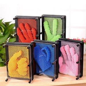 brinquedo de plástico jogo engraçado Pinart 3D arte forma clone pin Shoumo variedade colorida agulha get criança face modelo palma LZ0235