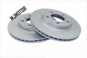 (2pcs lot) Front brake discs for Chinese Brilliance FSV Cross FRV H330 V5 Auto car motor parts 3496025 u9P2#
