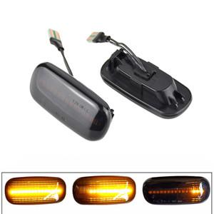 Led dynamique côté marqueur CLIGNOTANTS Lumière séquentielle Clignotants Lumière Emark Pour Audi A3 S3 8P A4 S4 RS4 B6 B7 B8 A6